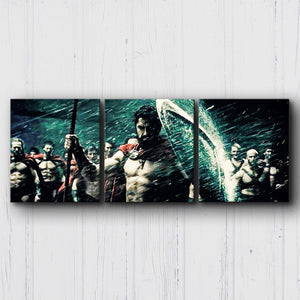300 The Rain Canvas Sets