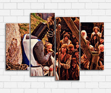 Load image into Gallery viewer, Monty Pythons Holy Grail A Witch Canvas Sets
