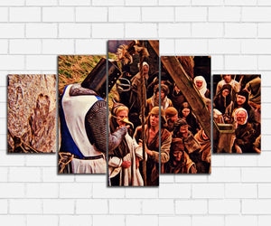 Monty Pythons Holy Grail A Witch Canvas Sets