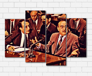 The Godfather II All Lies Canvas Sets