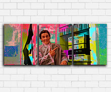 Load image into Gallery viewer, American Psycho Hip To Be Square Neon Canvas Sets