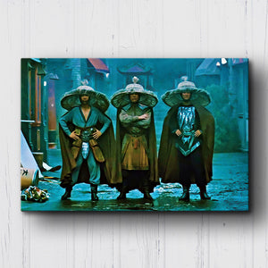 Big Trouble in Little China 3 Storms Canvas Sets