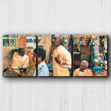 Load image into Gallery viewer, Coming to America Barbershop Canvas Sets
