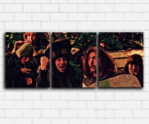 Monty Pythons Holy Grail Sir Robin Canvas Sets