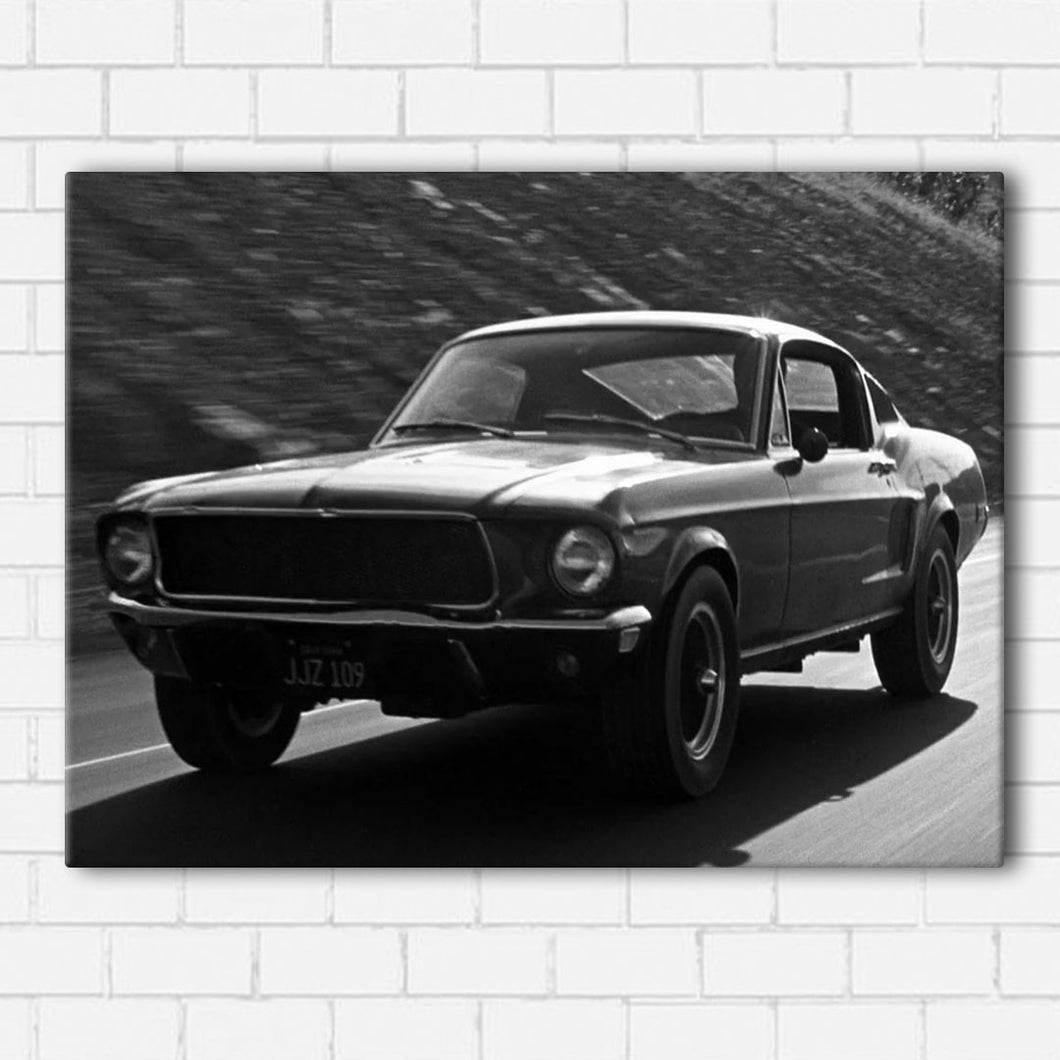 Bullitt 1968 Mustang Canvas Sets