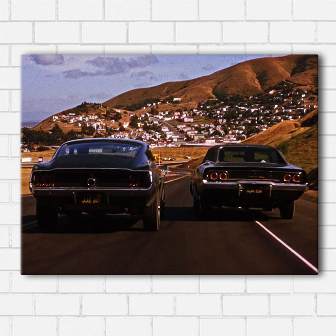 Bullitt The Chase Canvas Sets