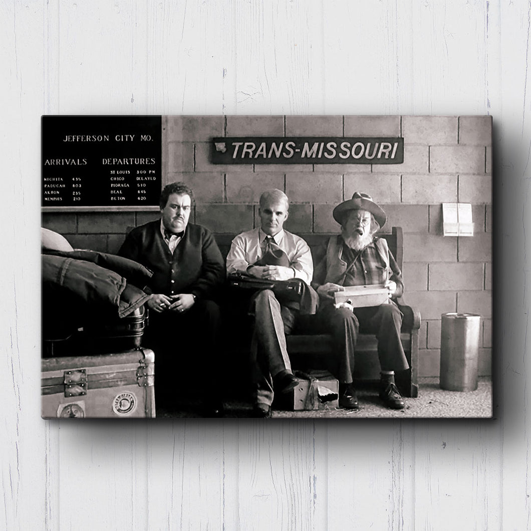 Planes Trains & Automobiles Bus Station Canvas Sets