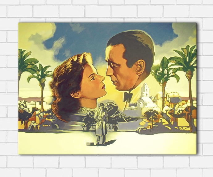 Casablanca Collage Canvas Sets