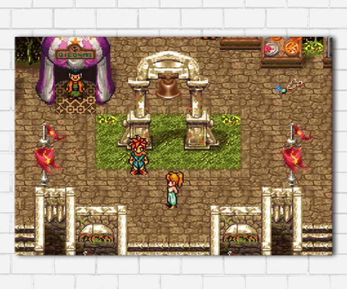 Chrono Trigger Canvas Sets