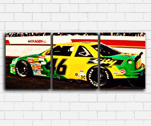 Days Of Thunder #46 City Chevy Canvas Sets