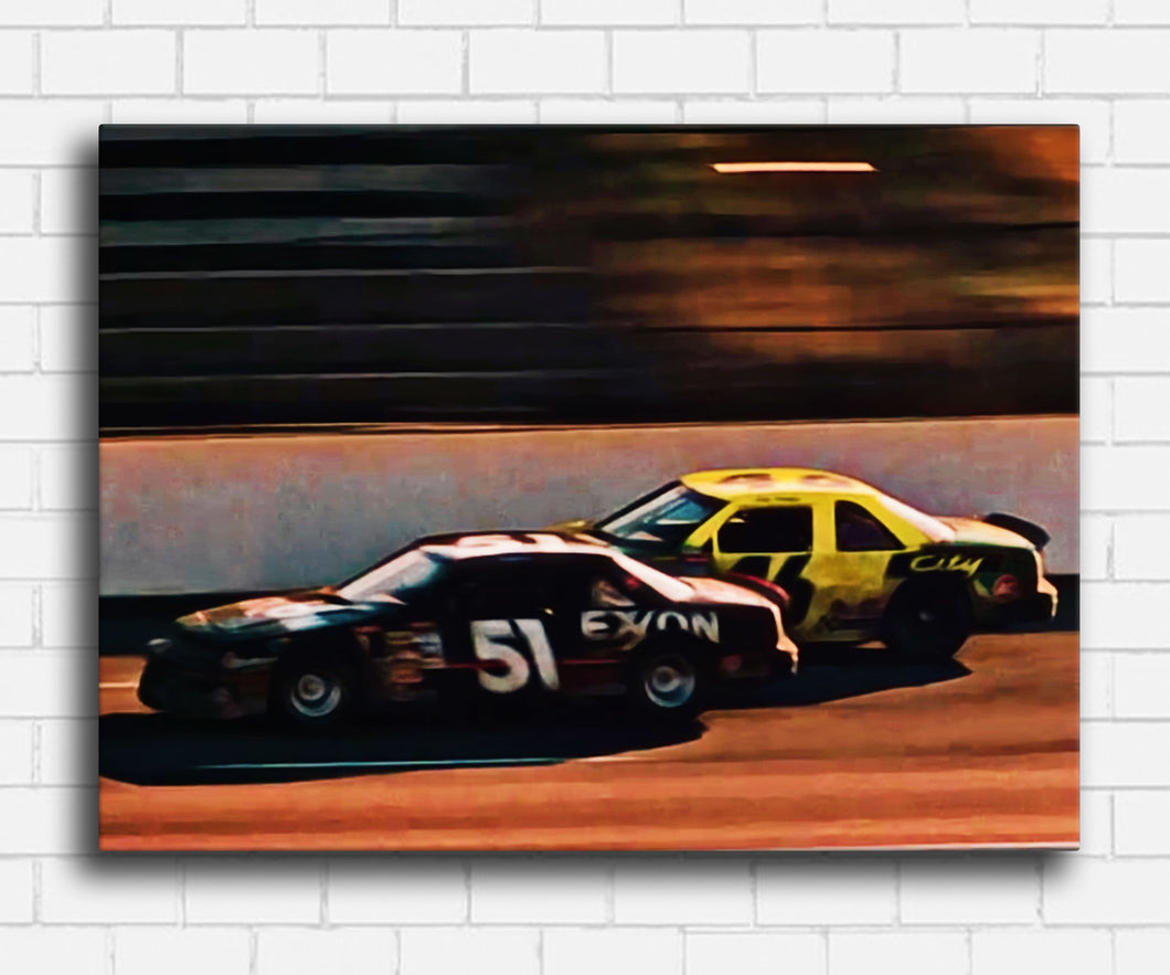 Days Of Thunder Cole Vs Rowdy Canvas Sets