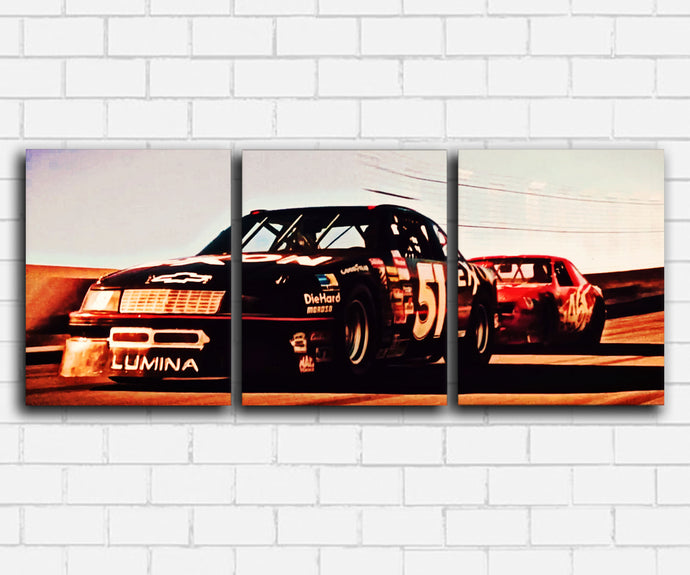 Days Of Thunder Cole and Rowdy Daytona Canvas Sets