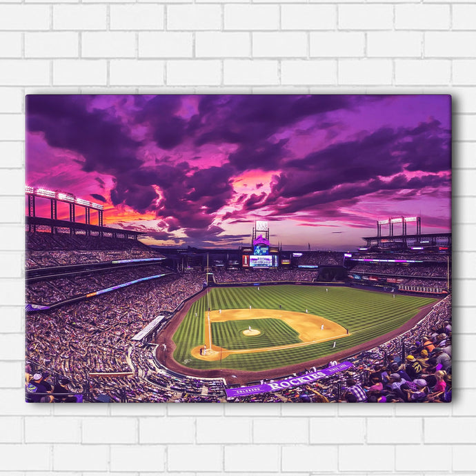 Coors Field Canvas Sets