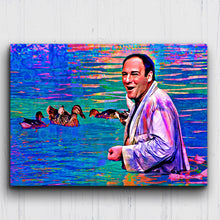 Load image into Gallery viewer, Mr. S & Ducks Color Drip Canvas Sets