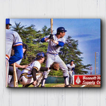 Load image into Gallery viewer, Bull Durham Davis At Bat Canvas Sets