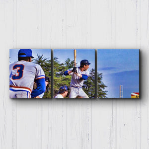 Bull Durham Davis At Bat Canvas Sets