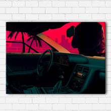 Load image into Gallery viewer, Delorean Vice Canvas Sets