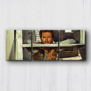 The Good The Bad The Ugly Die Alone Canvas Sets
