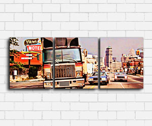 Beverly Hills Cop Detroit Chase Canvas Sets