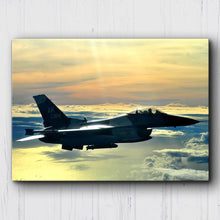 Load image into Gallery viewer, F-16 Fighting Falcon Sunset Canvas Sets