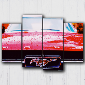 Mustang Grill Canvas Sets