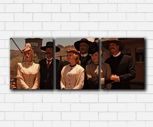 Tombstone Family Canvas Sets