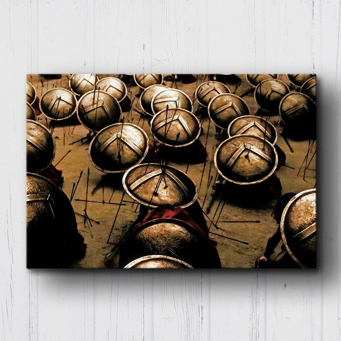 300 Fight In The Shade Canvas Sets