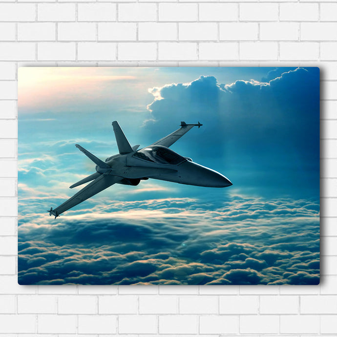Fighter In The Clouds Canvas Sets