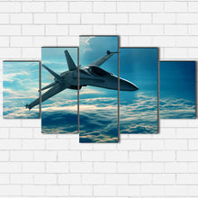 Load image into Gallery viewer, Fighter In The Clouds Canvas Sets