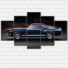 Load image into Gallery viewer, Ford Mustang GT500 and Flag Canvas Sets