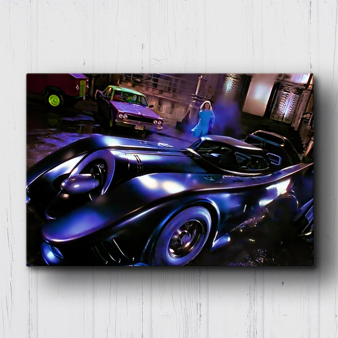 1989 Batman Get In The Car Canvas Sets