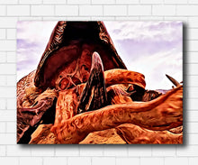 Load image into Gallery viewer, Tremors Graboid Canvas Sets