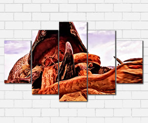 Tremors Graboid Canvas Sets