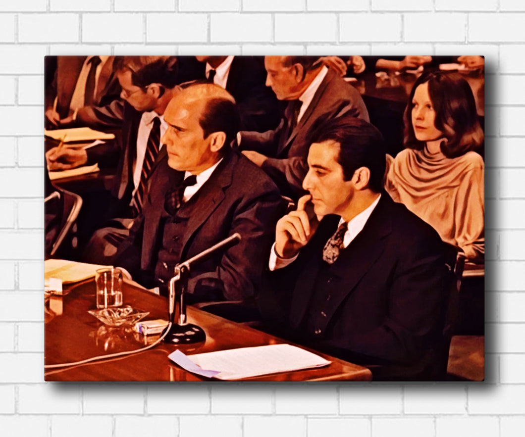 The Godfather II The Hearing Canvas Sets