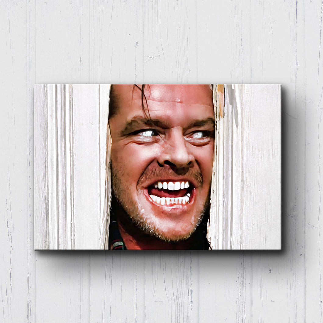 The Shining Here's Johnny Canvas Sets