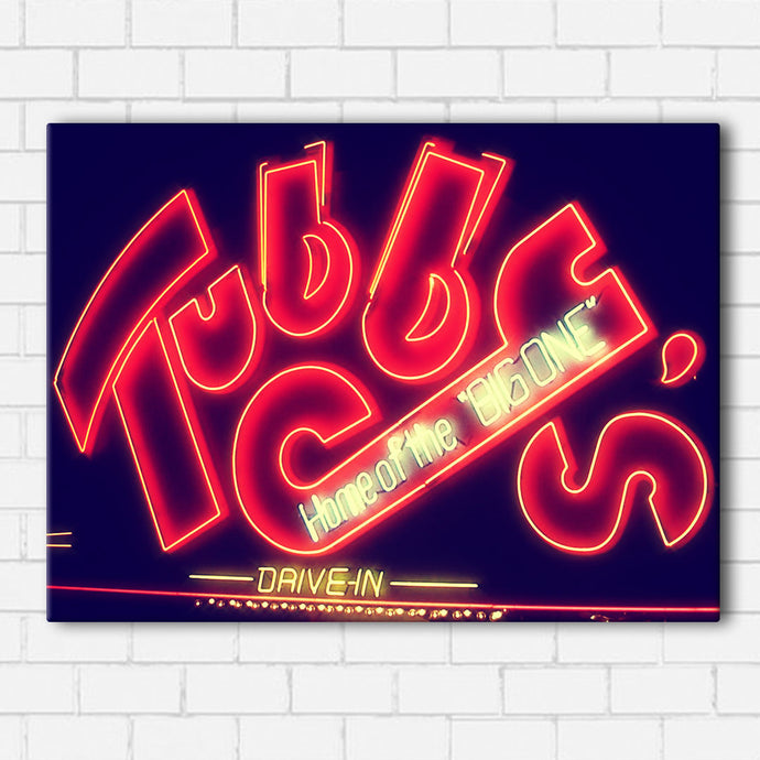 Hollywood Knights- Tubby's Logo Canvas Sets