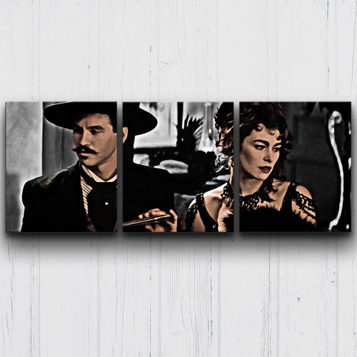 Tombstone Hungarian Devil BW Canvas Sets