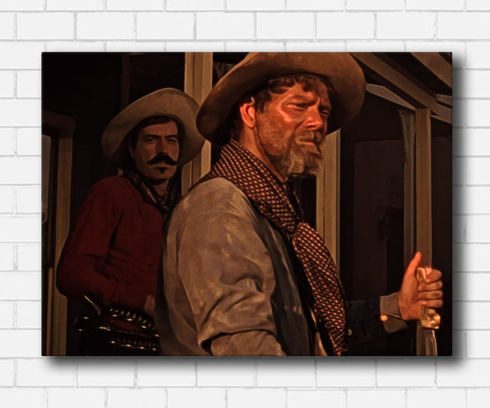 Tombstone Ike & Curly Bill Canvas Sets