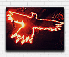 Load image into Gallery viewer, The Crow In Flames Canvas Sets