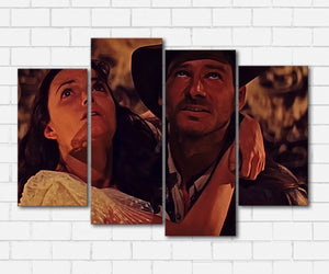 Indiana Jones and Marion Canvas Sets