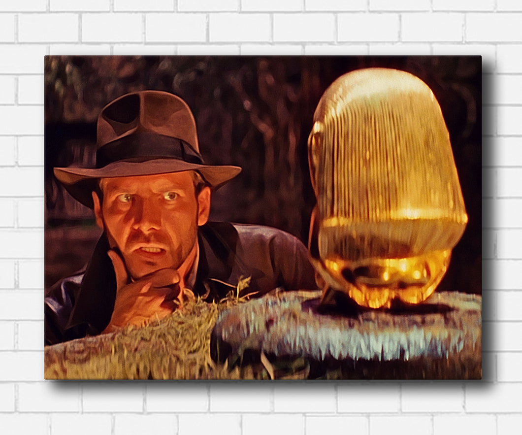 Indiana Jones and The Idol Canvas Sets