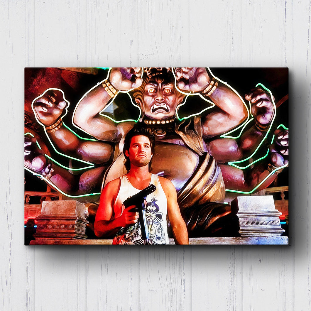 Big Trouble in Little China Jack Burton Canvas Sets
