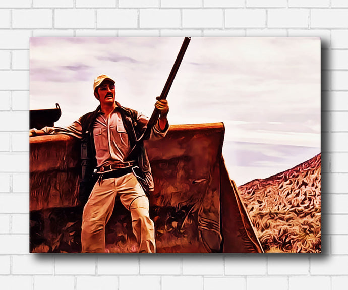 Tremors King Burt Canvas Sets