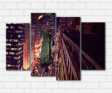 Load image into Gallery viewer, Ghostbusters II Lady Liberty Canvas Sets