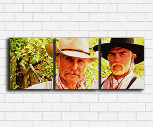 Lonesome Dove Augustus and Woodrow Canvas Sets