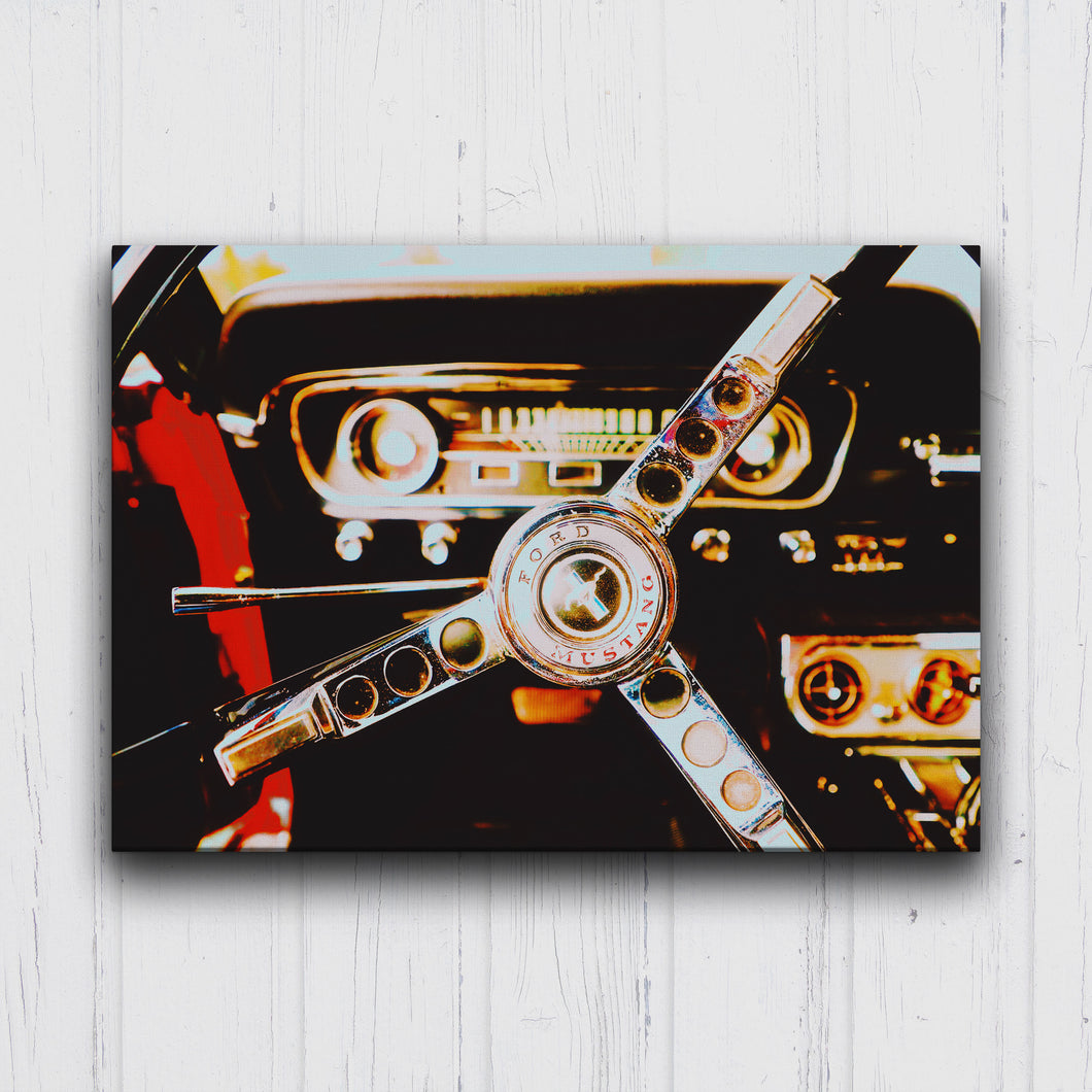 Drive A Mustang Canvas Sets