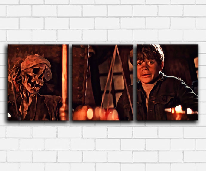 The Goonies Meet Willy Canvas Set