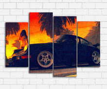 Load image into Gallery viewer, Bad Boys 1995 Nice Car Canvas Sets