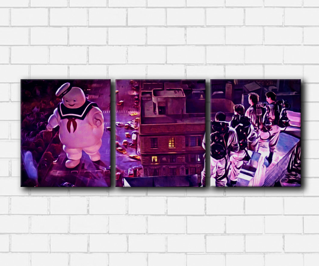 1984 Ghostbusters Mr. Stay Puft Canvas Sets