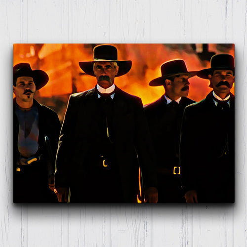 Tombstone Ok Corral Canvas Sets